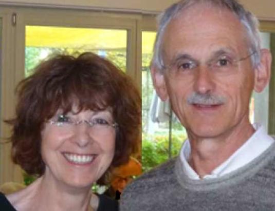 Alfred Weil mit seiner Frau Marion